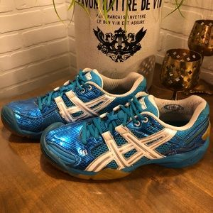 44636f768b01 Asics Shoes - ASICS Gel Domain 2 Women s Indoor Court Shoes 8.5